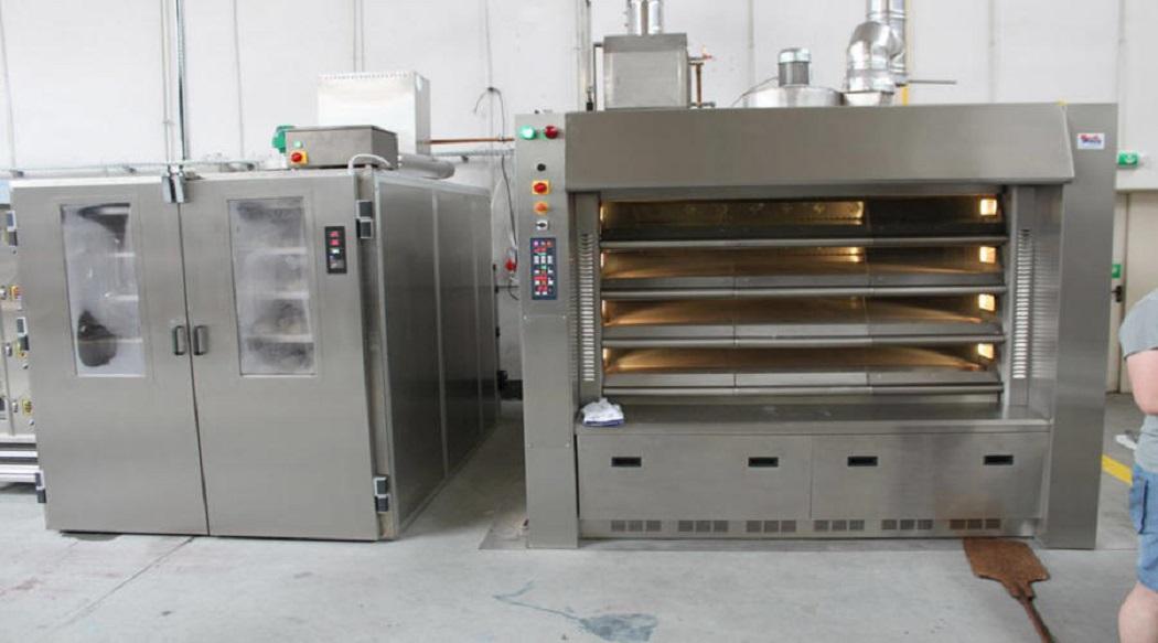Bardzo dobry MECH MASZ urządzenia piekarnicze maszyny cukiernicze piece MU57